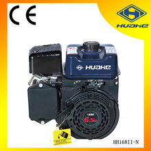 air cooled strong power OHV type gasoline engine 6.5hp ,mini gasoline engine,168f 1 gasoline engine