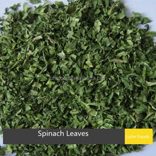 8*8mm latest crop xinghua air dried spinach leaves wholesale