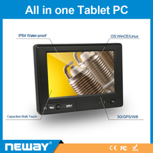 "Embedded touch screen tablet pc With GPS 7"" pc all in one"