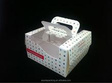 Cute Cupcake Box with Insert Take Away Cake Box