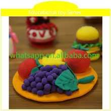 Educación en el hogar juguete arcilla roja jarrones diseños