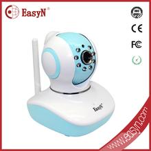 720P HD plug&play ip camera h.264 baby monitor phone remote controll