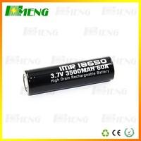 2015 Hottest!!! High quality imr 18650 60amp 3500mah battery 3.7v li-ion battery Vape Mods Box mods battery from Hmeng