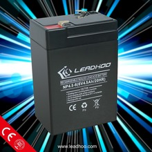 6v 4.5ah vrla sla agm lead acid gel deep cycle storage rechargeable battery for sale