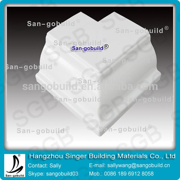 Sgb pvc canaletas de lluvia canalones de pvc accesorios - Precio canaleta pvc ...