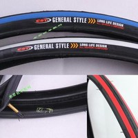 700CX23C pedal bike tyre with 4 colors available innter tubes attached pedal bike tyre