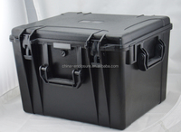 IP68 ABS plastic waterproof carrying tool case with foam