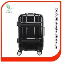 ABS PC Hard Shell Deep Aluminum Frame Luggage