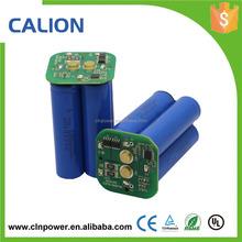 7.4v da 4400mah agli ioni di litio 18650 batteria 2s2p, 18650 batteria al litio ricaricabile