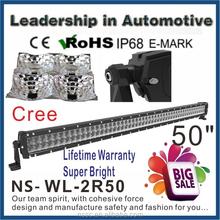 wholesale!!!50 inch 300w cree off road led lightbar,led driving light,waterproof,for 4x4 car accessory,SUV,ATV,4WD,truck,UTV