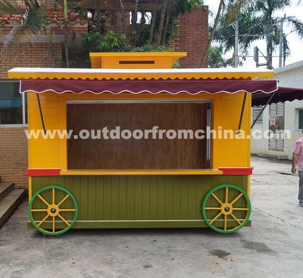 durable en plein air mobile d tail kiosque rue kiosque. Black Bedroom Furniture Sets. Home Design Ideas