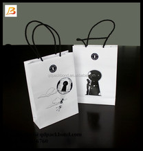 Customized luxury recycled strong promotional cheap logo shopping bag