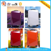 20 inch 24 inch 2015 new design large size suitcase diamond cut trolley case