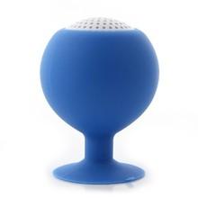 Newest Gold-plated Audio Jack on Alibaba Market , Mini Portable Balloon Ball Silicone Holder Speaker