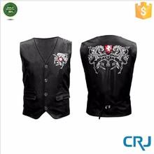 Sleeveless Pu Leather Vest for Men