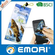 Microfiber mobile phone sunglasses jewelry bag pouch