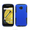 PC+Silicone armour mobile back protective shell cover case For Motorola Moto E(2015)