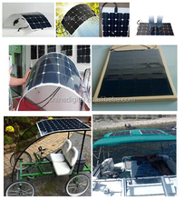 25W Flexible solar panel,Sunpower solar cell panel for marine 10W-200W SN-H25W