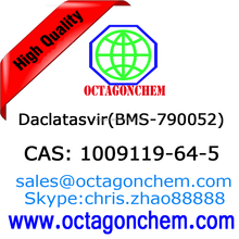 API for hepatitis C-The latest batch Daclatasvir(BMS-790052), High quality 1009119-64-5 Daclatasvir(BMS-790052)