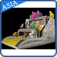 Single Lane Inflatable Noa' s Ark Slide