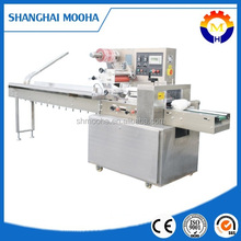 Automatic plastic film flow packaging machine / packing equipment for medicine table (CE certificate)