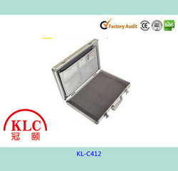 Aluminium brief computer case KL-C412