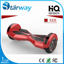 Bluetooth and LED function supported long distance ride electric balancing 2 wheel scooter