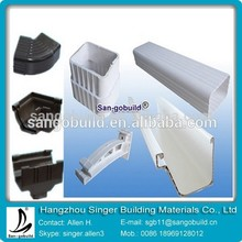 new innovation building material pvc rainwater gutters