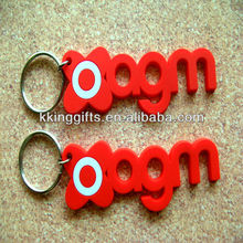 2015 hot selling customized printing reflective keychain