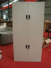 Clothing wardrobe/ Kids wardrobe with 4 compartments/ metal locker for office, government,home