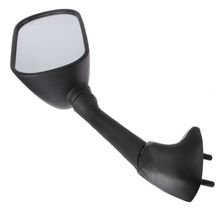 Black Motorcycle Side Mirrors Rear View Mirror For YAMAHA