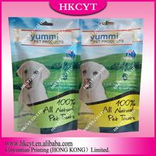 Pet dog food packaging bag
