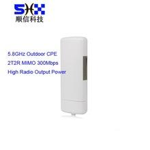 5.8Ghz 300Mbps Long Range Outdoor Wifi Access Point /CPE / AP/Bridge / Client / Router, Atheros AR9344