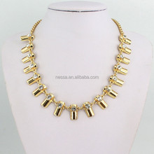 Fashion necklace arabic gold jewellery designs wholesale MLQZAN387