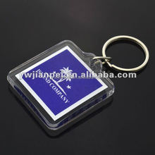 Square Acrylic KeyChains With Custom Logo