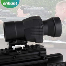 Best price 3X Magnifier Rifle Scope With Swing To Side Mount And Flip Up Lens Covers Fit For 551/552 Red Dot Sight for Hunting