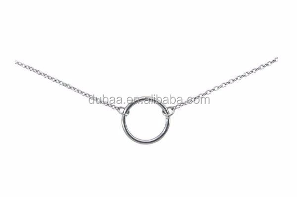 stainless steel circle pendant necklace.jpg