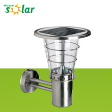 NEW product Water-proof CE wall-mounted solar led outdoor lighting for yard lighting(JR-2602)