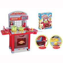 SE96322 Funny Kitchen Kids Toy Play Set With Light