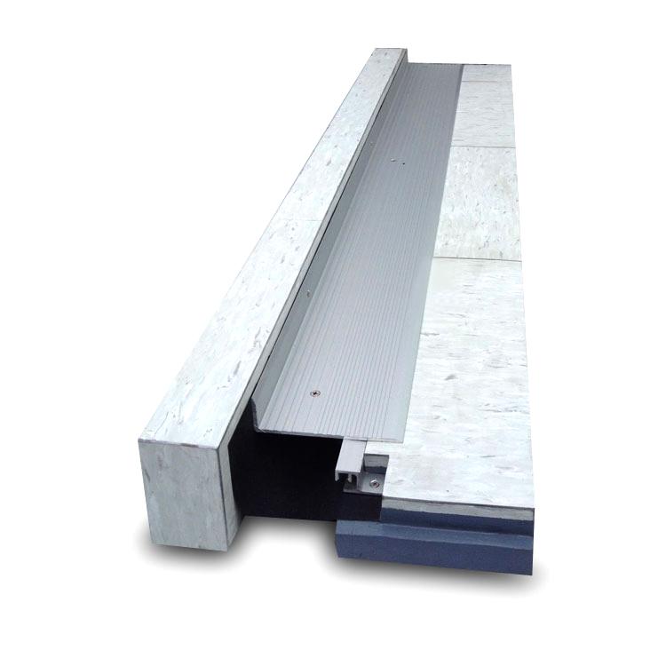 Exterior durable aluminum expansion joint cover in buildings buy aluminum expansion joint for Exterior expansion joint covers