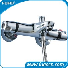 FUAO hot sale wall mounted thermostatic bath shower mixer