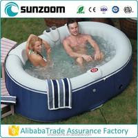 SUNZOOM inflatable portable spa tub,spa bathtub,inflatable spa
