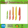 New Desgin Eco-Friendly Color Blade Non-stick Knife Set