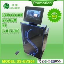ISO 9000 CE approved vacuum RFcavitation no side effects fat reduction