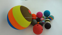 injection foam rubber bouncing ball
