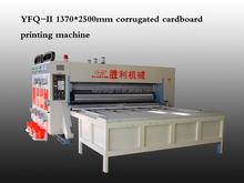 Packing printer corrugated paperboard flexo printing die cutting machine &gluing