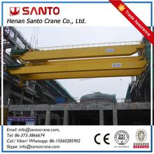 Compact Design For Low Clearance Workshop Two Girder Moving Crane