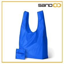 Reuseable shopping bags, lightweight nylon foldable shopping bag
