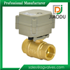Brass Actuator Control Electric/ Motorized Ball Valve