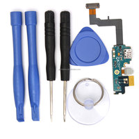 New For Samsung Galaxy S2 i9100 Flex Cable Charger Charging USB Port Connector+Mobile Phone Opening Repairing Tools